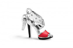 ROSATO SILVER JEWELS SHOES COLLECTION Mod. HEEL   - Charms