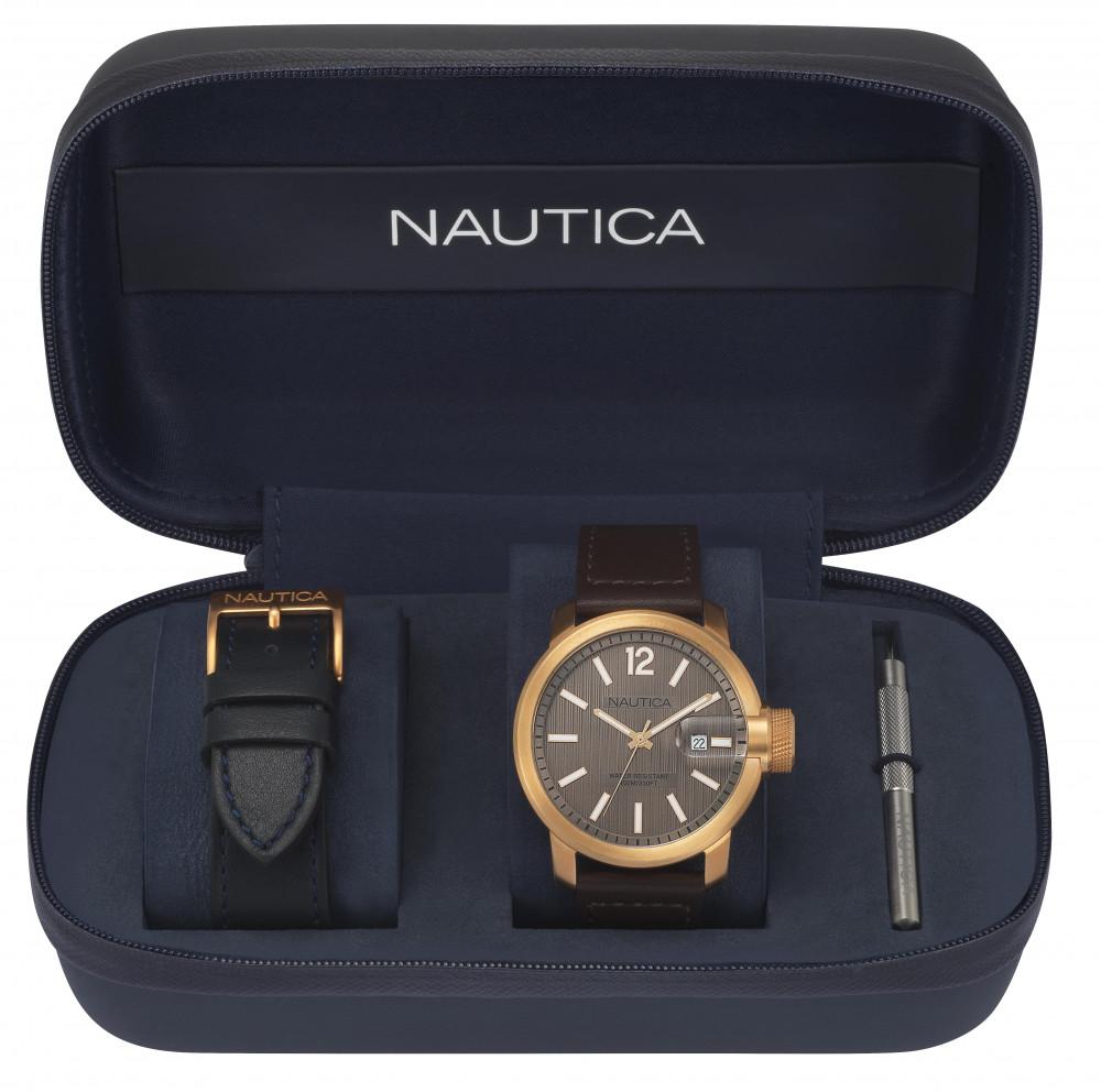 Hodinky NAUTICA model SYDNEY GENT´S BOX SET NAPSYD013