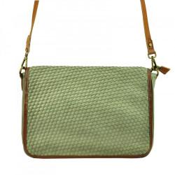 Aktovková crossbody kabelka Lookat 5012 zelená