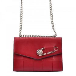 Dámska kabelka na rameno Cesily 5001 červená