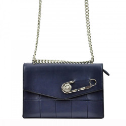 Dámska kabelka na rameno Cesily 5002 tmavo-modrá