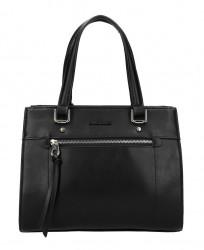 DAVID JONES Originálna čierna dámska kabelka do ruky CM5751