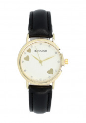 Náramkové dámske hodinky s kamienkami Skyline Quartz 9300-7