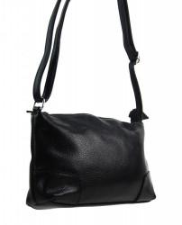 Pozdĺžna menšia dámska crossbody kabelka H0515 čierna #1