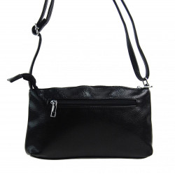 Pozdĺžna menšia dámska crossbody kabelka H0515 čierna #2