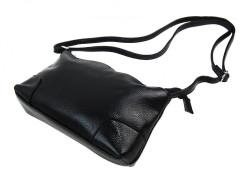 Pozdĺžna menšia dámska crossbody kabelka H0515 čierna #3