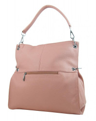 Veľká ľubovoľne nositeľná dámska kabelka 5381-BB ružová #1