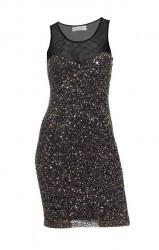 Pôvabné flitrované šaty