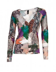 Úpletový farebný sveter HEINE - B.C.