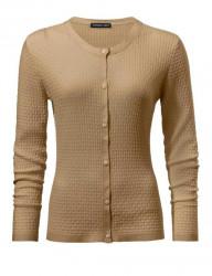 Jemný sveter so zaujímavouštruktúrouúpletu