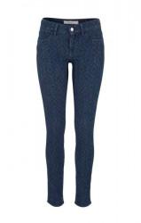Úzke vzorované džínsy Wrangler