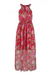 Maxi šifónové šaty »Lili«, VERO MODA, červená