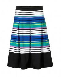 Ashley Brooke riasená sukňa, farebná