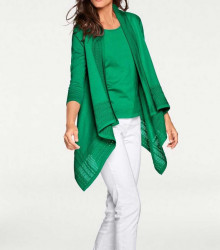 Atraktívny twinset, zelený #1