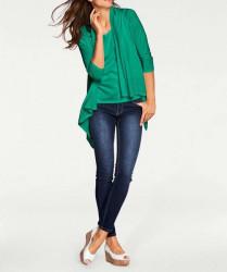 Atraktívny twinset, zelený #4