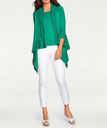Atraktívny twinset, zelený #5