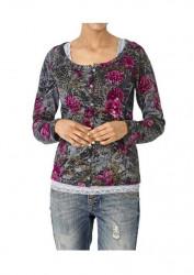 Bavlnený kvetinový sveter Heine #1