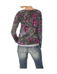 Bavlnený kvetinový sveter Heine #2