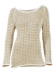 Béžový dlhý pulóver HEINE - B.C.