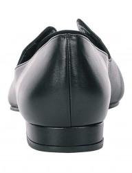 Čierne kožené balerínky #2