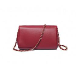 Clutch - kabelka cez plece, červená #1