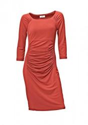 Dámske oranžové šaty HEINE