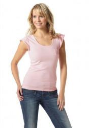 Dámske ružové tričko Flashlights