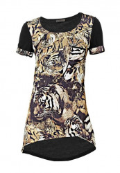 Dámske tričko s tigrom Mandarin