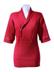 Dámsky červený sveter B.C.woman