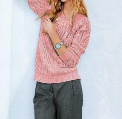 Dámsky pulóver s korálkami HEINE - B.C. #3