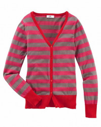 Dámsky sveter s pruhmi Flashlights