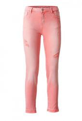 DESIGUAL strečové džíny, ružové
