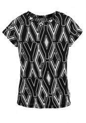 Detské tričko BENCH, čierno-biela