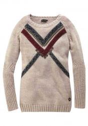 Dlhý pulóver s ozdobami TIGERHILL