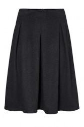 Džersejová sukňa Ashley Brooke, tmavomodrý-melír