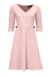 Džersejové šaty Patrizia Dini, ružová