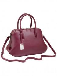 Elegantná kabelka, bordová