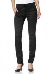 Elegantné čierne nohavice VERO MODA