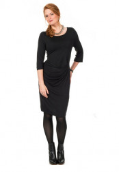 Elegantné čierne šaty Sheego
