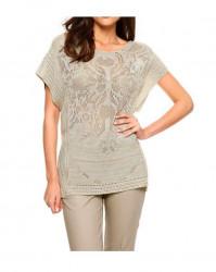 Elegantný ažúrový pulóver Ashley Brooke #1