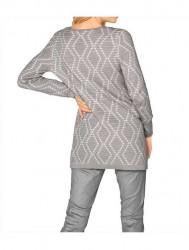 Elegantný žakárový sveter Ashley Brooke #2