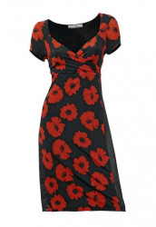 Extravagantné šaty s kvetmi HEINE