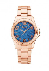 FIRETTI hodinky, ružovo-modré