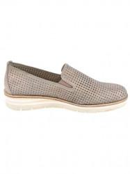 GABOR kožené slipper topánky, púdrovo-metalické #2