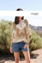 Háčkovaný pulóver APART #4