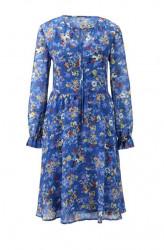 HEINE šaty s kvetinovou potlačou, modrá