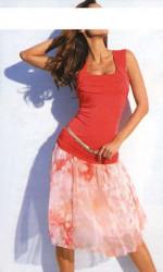 Heine šifónová sukňa kvetovaná #1