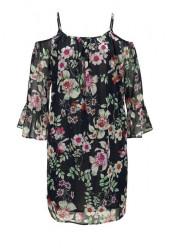Herrlicher kvetované šaty JOENA, farebné