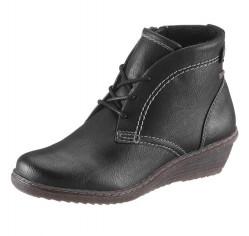 Hush Puppies členkové topánky, čierne