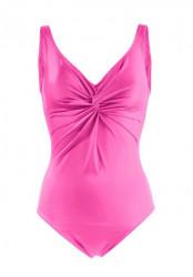 Jednodielne plavky v horúcej ružovej